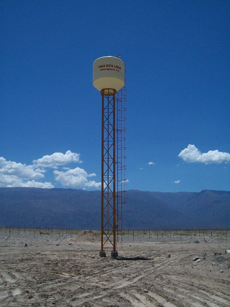 Torre Recta | 12 m. | 10.000 lt. | Chilecito, La Rioja