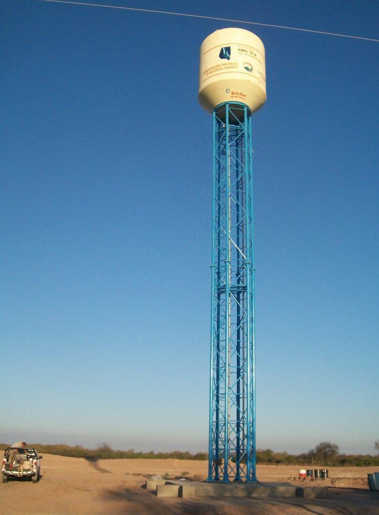 Torre Recta | 20 mts. | Vinal Isla 50 mil lts. |