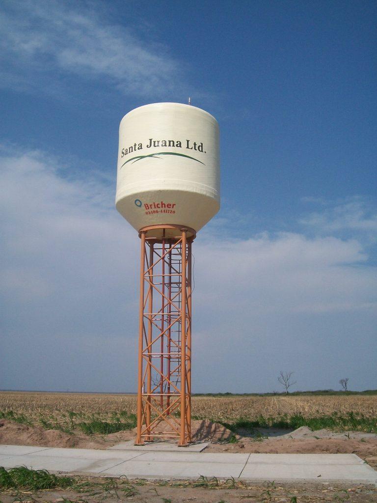Torre Recta | 6 mts. | 25 mil lts. | Santa Juana Ltd.
