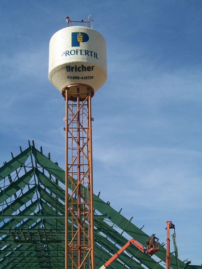 Torre Recta | 9 m. | 5.000 lt. | Rosario